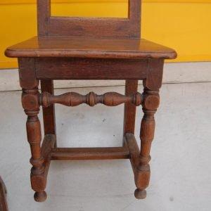 4 sedie in rovere massello fine 700 lorenesi h 92 cm 01 14