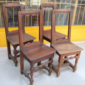 4 sedie in rovere massello fine 700 lorenesi h 92 cm 01 15