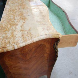 como commode a 3 cassetti in stile luigi xv in bois de rose fronte 124 cm 01 1