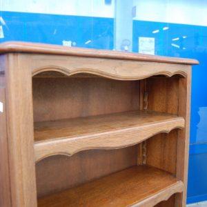 piccola etagere libreria provenzale in rovere fronte 72 cm 01 2