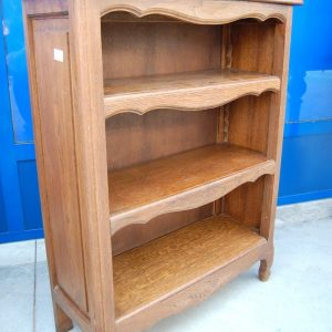 piccola etagere libreria provenzale in rovere fronte 72 cm 01 6