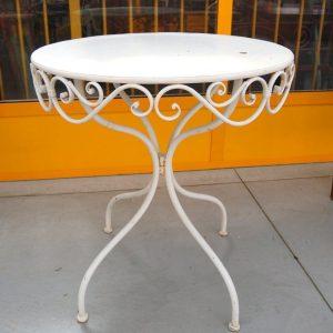tavolino da giardino in ferro diametro 70 cm decorato spedizione gratuita 01 6