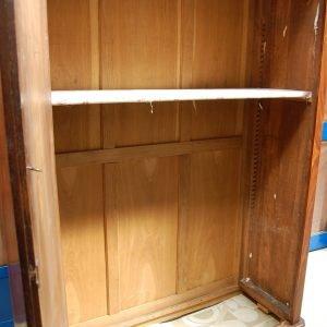 armadio luigi filippo in piuma di noce fronte 137 cm meta 800 01 6