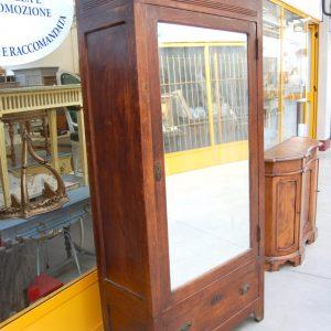 armoire armadio con specchio umbertino in ciliegio h 215 cm 01 2