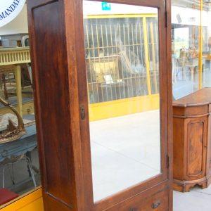 armoire armadio con specchio umbertino in ciliegio h 215 cm 01 5