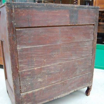 cassettiera fine 700 provenza decoro a finto legno fronte 82 cm 01 14