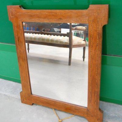 piccolo specchio liberty intarsiato lato 62 x 75 cm inizio 900 spedizione gratuita 01 7
