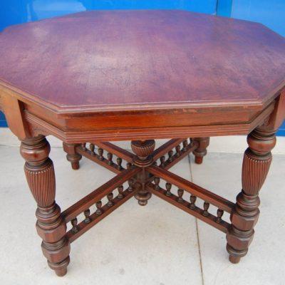 tavolino da salotto ottagonale inglese in mogano diametro 98 cm 01 13