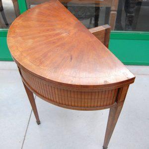 tavolo da gioco a mezza luna napoleone iii 800 con serrandina diametro 89 cm 01 10