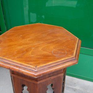 gueridon tavolino ottagonale in mogano diametro 55 h 64 cm invio gratis 01 8