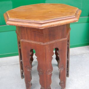 gueridon tavolino ottagonale in mogano diametro 55 h 64 cm invio gratis 01 9
