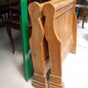 letto singolo luigi filippo in ciliegio massello prima meta 800 01 4