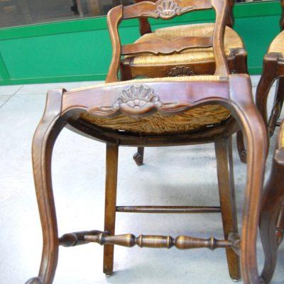 6 sedie in ciliegio massello scolpite provenzali 01 8