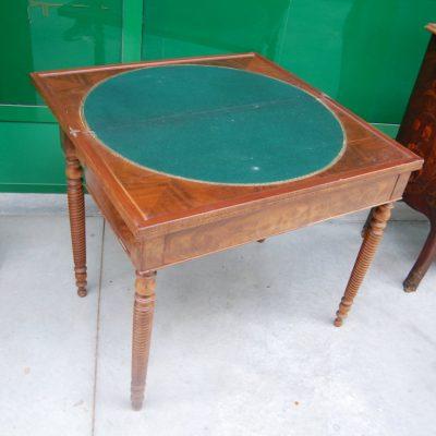 tavolino da gioco in mogano luigi filippo meta 800 lato 84 cm 01 7