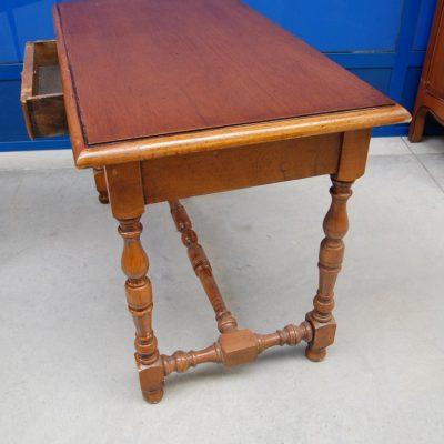 tavolino piccolo scrittoio in faggio lato 108 cm 01 8