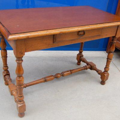 tavolino piccolo scrittoio in faggio lato 108 cm 01 9