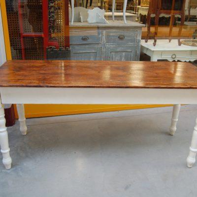 tavolo ligure rustico in pino meta 800 fronte 170 cm 01 8