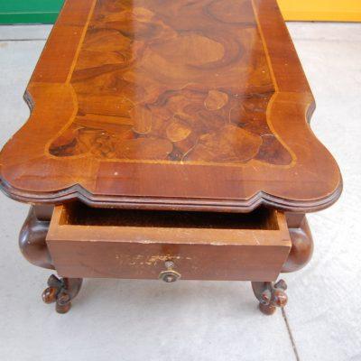 tavolino da salotto barocchetto in radica lato 113 cm 01 8