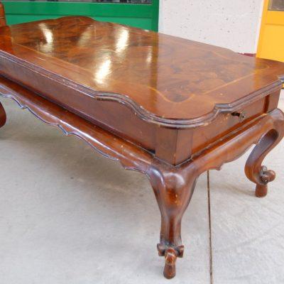 tavolino da salotto barocchetto in radica lato 113 cm 01 9