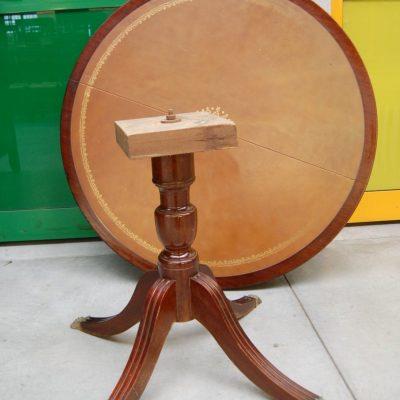 tavolo rotondo inglese in mogano allungabile diametro 110 cm 01 11