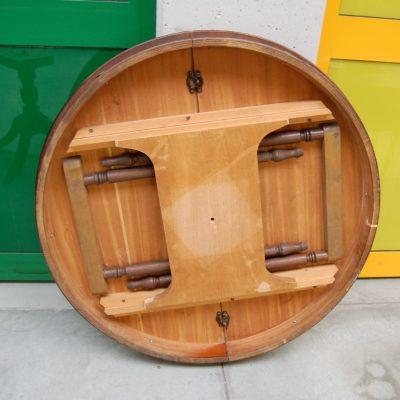 tavolo rotondo inglese in mogano allungabile diametro 110 cm 01 5
