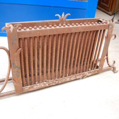 portacarbone 800 in ferro battuto da camino lungo 89 cm 01 10