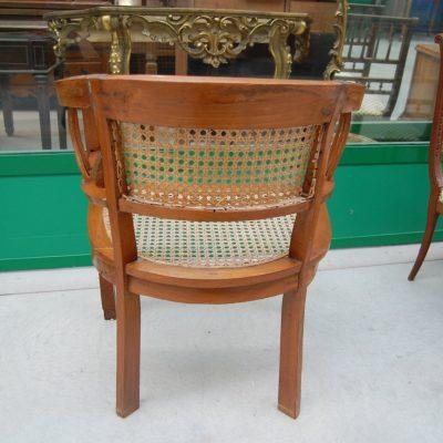 sedia poltrona a pozzetto seduta in rattan 01 4