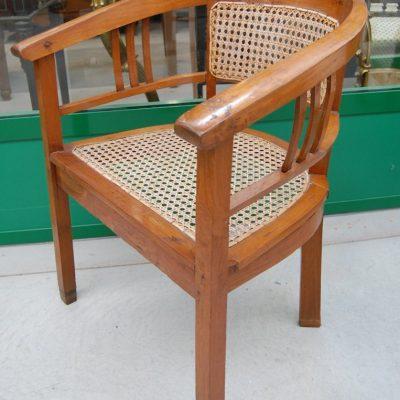 sedia poltrona a pozzetto seduta in rattan 01 5
