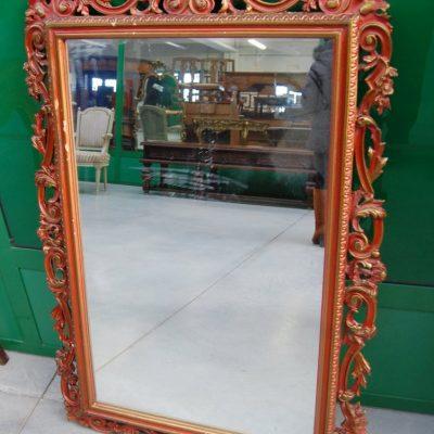 specchio in legno scolpito e laccato h 116 cm 01 4