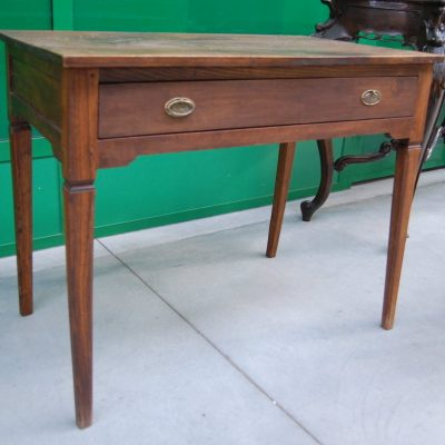 tavolino scrittoio stile luigi xvi noce prima meta 800 fronte 94 5 cm 01 14