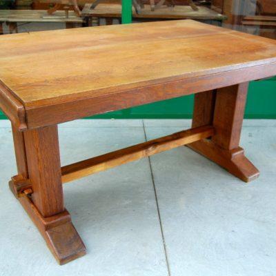 tavolo in rovere massello inizio 900 lato 154 cm 01 10