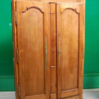 armadio in ciliegio direttorio normandia 800 fronte 128 cm 01 17