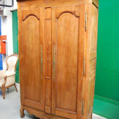 armadio in ciliegio direttorio normandia 800 fronte 128 cm 01 3