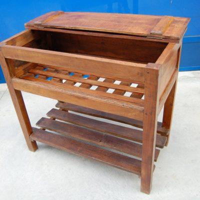 scolapiatti rustico legni misti fronte 103 cm 800 01 11