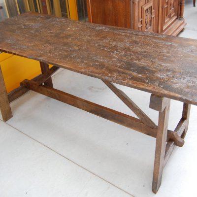 tavolo fratino a capretta noce fine 700 lato 161 cm 01 11