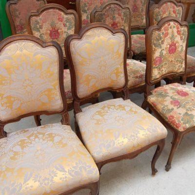 10 sedie imbottite fine 800 01 6