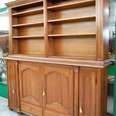 libreria a due corpi ante 800 scocca primo 900 fronte 220 cm 01 15