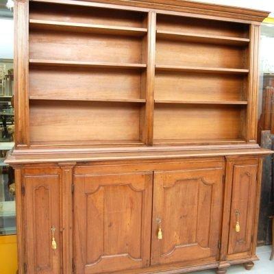 libreria biblioteca doppiocorpo ante 800 scocca primo 900 fronte 220 cm 01 17