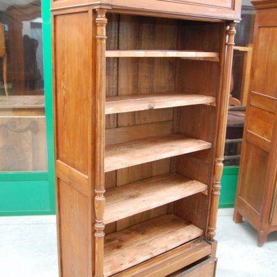 libreria in larice fine 800 fronte 94 cm 01 15
