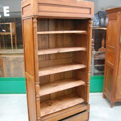 libreria in larice fine 800 fronte 94 cm 01 7