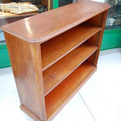 libreria in mogano napoleone iii 800 fronte 125 cm 01 8