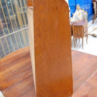 mensola etagere a muro in rovere fronte 100 cm 01 7