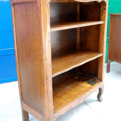 piccola libreria etagere in rovere massello provenzale h 97 5 cm 01 10
