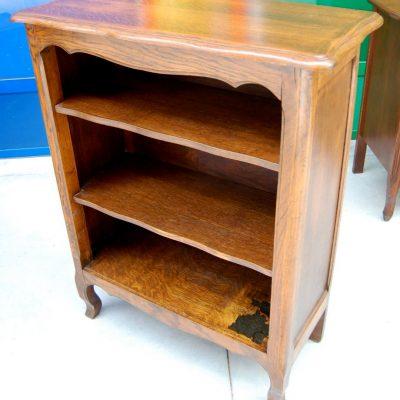 piccola libreria etagere in rovere massello provenzale h 97 5 cm 01 9