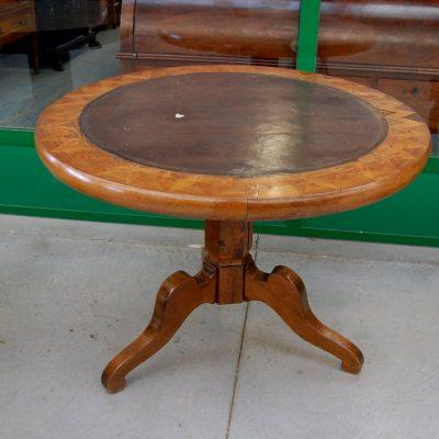 tavolino da gioco intarsiato ciliegio 800 luigi filippo diametro 104 cm 01 10