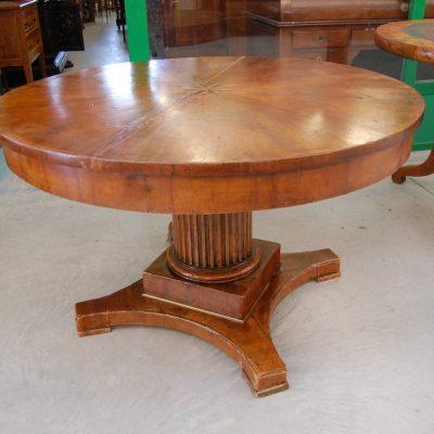 tavolo impero con gamba centrale diametro 115 cm 01 2