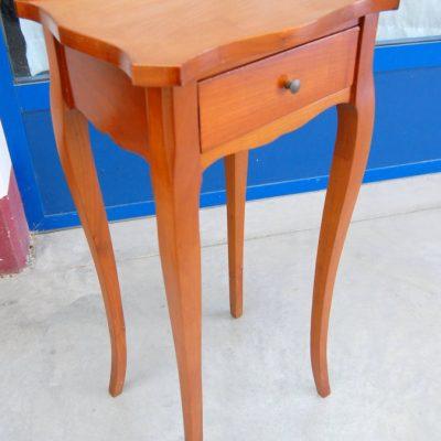 piccolo tavolino in ciliegio h 75 cm stile luigi xv 01 6