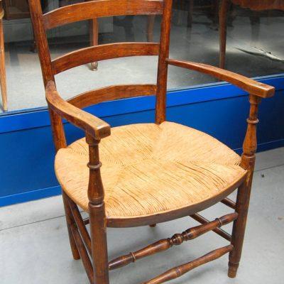 sedia capotavola provenzale in rovere 800 01 9