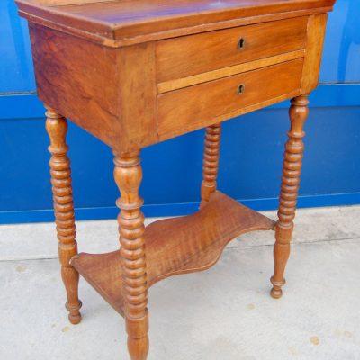 tavolino da lavoro in mogano h 70 cm 01 13