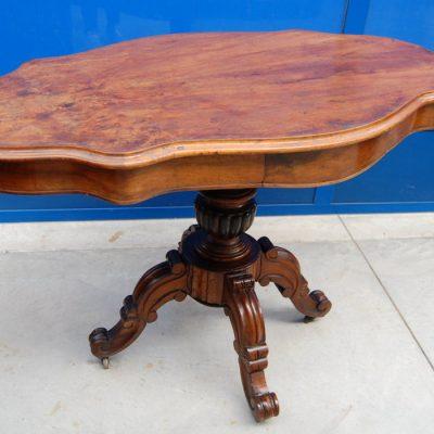 tavolo a biscotto in noce 800 fronte 112 cm 01 10
